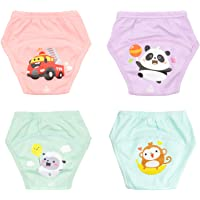 Flyish Pantalon de Training Lavable pour bébé Pantalon de Training réutilisable pour Enfant, Couche Lavables Bébé…