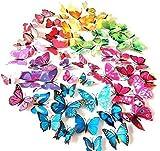 AWAKINK(TM) 72 Pcs 3d Butterfly Stickers...
