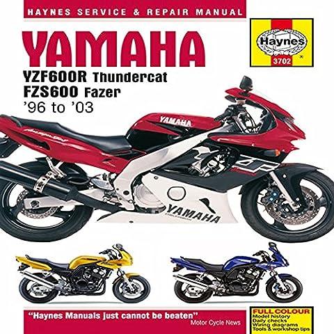 Yamaha YZF600R Thundercat & FZS600 Fazer (96 - 03) Haynes