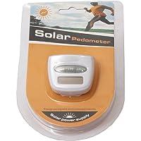 Ishita Fashions Solar Power Calorie Consumption Run Step Pedometer Distance Counter with LCD Screen (Random Colour)