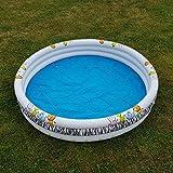 Unbekannt Kinder Planschbecken Safari Design Pool rund 170 cm Swimmingpool Schwimmbecken