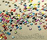 Strass Hotfix DMC color Mix SS10 elegir gemas número seleccionable, gemas, 1.000