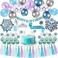 Frozen Happy Birthday Balloon Theme