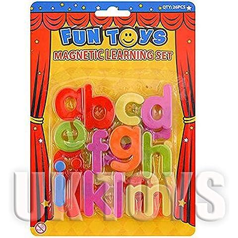 Imanes de Nevera Letras del Alfabeto 26 Piezas - Multicolor