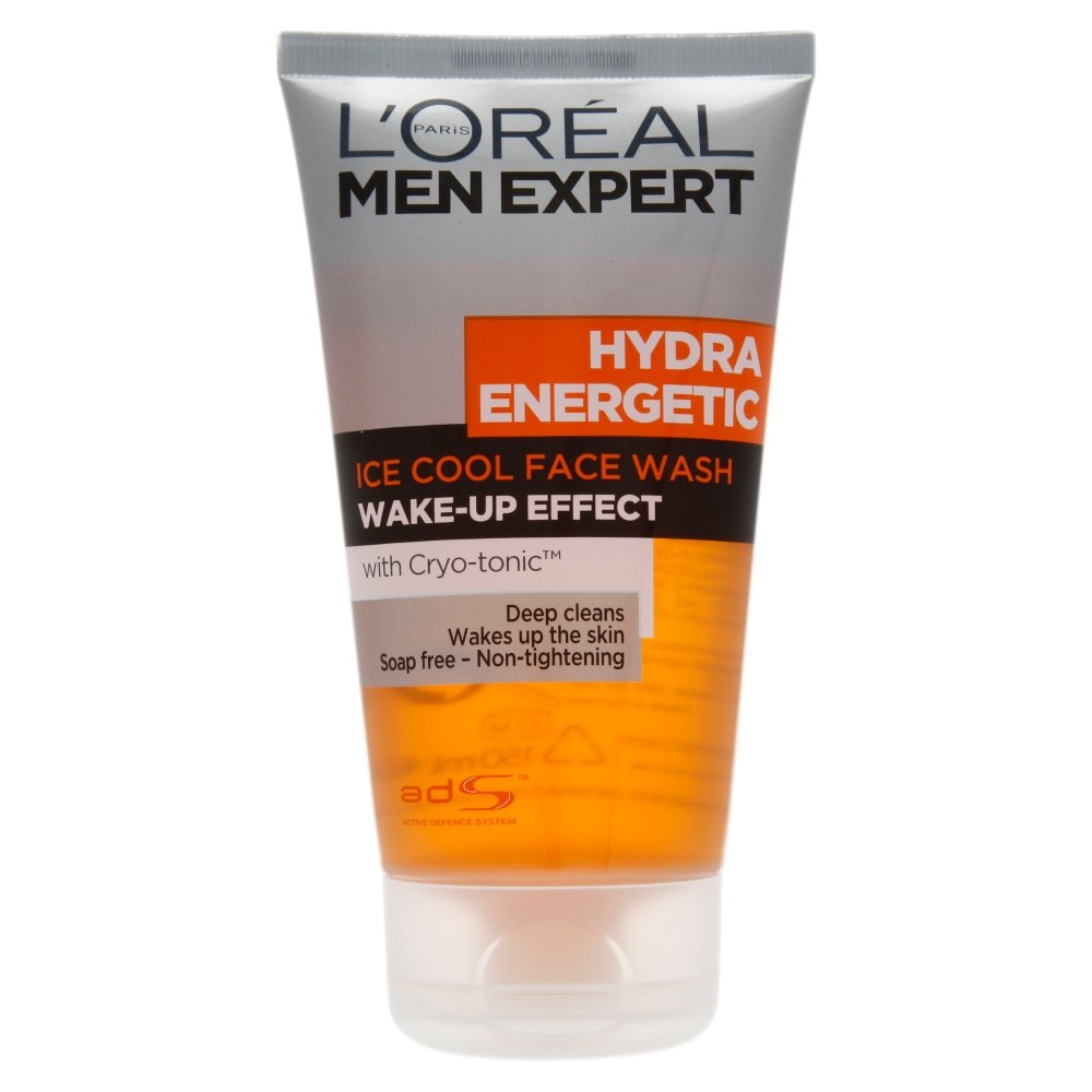 l 39 oreal men expert hydra energetic face wash 150ml. Black Bedroom Furniture Sets. Home Design Ideas