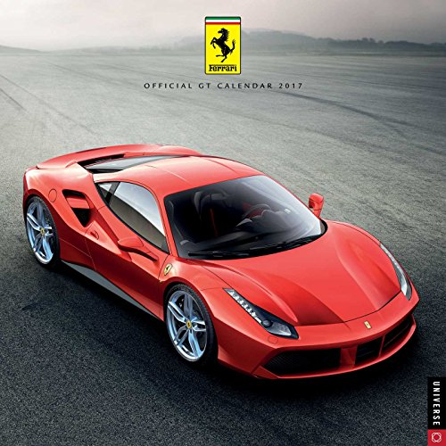 Ferrari Official 2017 Wall (Square Wall) par Universe Publishing