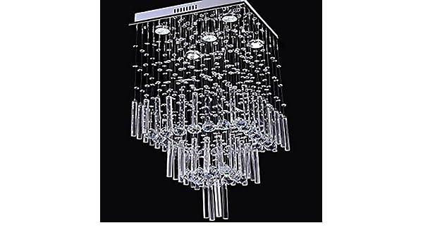 Kronleuchter Quadratisch ~ Lookshop kronleuchter quadratisch aus kristall mit lichter
