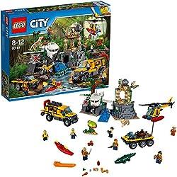 Lego City Jungle Explorers Sito di Esplorazione nella Giungla, 60161