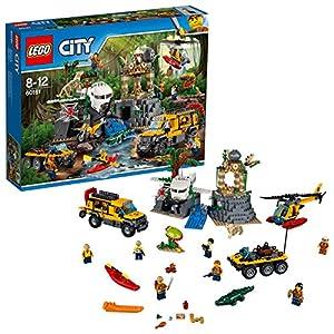 LEGO City 60161 - Jungle Explorers Sito di Esplorazione nella Giungla 5702015866286 LEGO