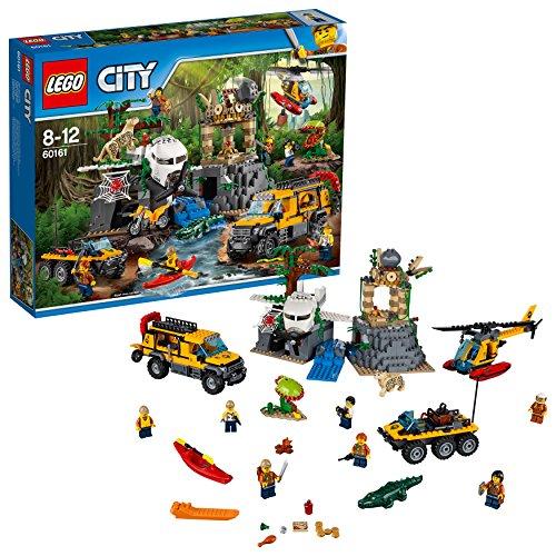 dschungel lego LEGO City 60161 - Dschungel-Forschungsstation