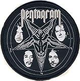 PENTAGRAM - Baphomet Logo Patch / Aufnäher