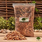 Smoking / Smoker Wood Chips 3 Litre - Kiln Dried Woodchips for Smoking Food / Smokers / BBQ's / Ovens / Smoking tins - Fast FREE delivery