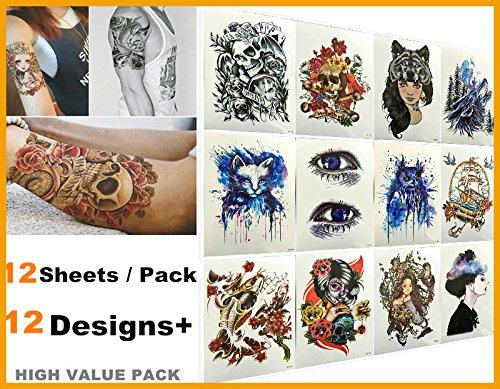 nouvelle-arrivee-love-nest-12-feuilles-pack-fashion-designs-meilleur-tatouage-temporaire-tatouage-et