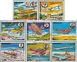 Paraguay 2929-2936 (kompl.Ausg.) 1977 Geschichte der Luftfahrt (Briefmarken für Sammler)