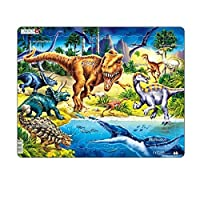 Larsen NB3 Dinosaurs from the Cretaceous Period, Jigsaw Puzzle with 57 Pieces
