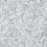 Miyuki Delica Tamaño 8/0Crystal de cuentas redondas Luster 6,8G