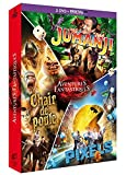Aventures fantastiques : Jumanji + Chair de poule + Pixels [DVD + Copie digitale]
