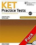 Ket practice tests. With key. Per le Scuole superiori. Con CD Audio