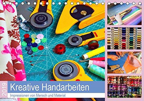 Kreative Handarbeiten 2019. Impressionen von Mensch und Material (Tischkalender 2019 DIN A5 quer): 12 kreative Bilder von Menschen, die handarbeiten, ... 14 Seiten (CALVENDO Hobbys) (Weben Bild)