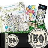 50. Geburtstag | Entspannungs Geschenkset | Geschenk für 50 Geburtstag