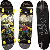 The Simpsons - Skate Hologramme Bart, 808748