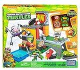 Tortugas Ninja - Guarida, 36 x 29 cm (Mega Bloks DMX12)