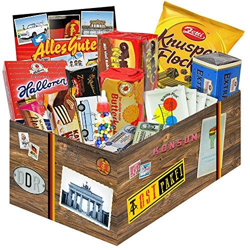 DDR Waren & Ostprodukte ++ tolle Ostpakete mit ostalgischen Produkten aus der DDR ++ Geschenksets und Geschenkpakete mit tollen Ostmotiven ++ Ostalgie Spezialitäten und