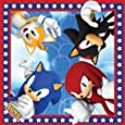 Sonic The Hedgehog Party Napkins -