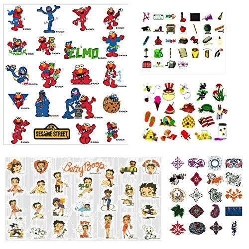 92.000 + Stickerei-Muster, Design Dateien auf .PES & .HUS auf DVD