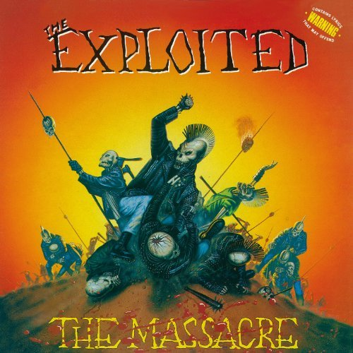 The Massacre - Special Edition by The Exploited (2014-08-03)