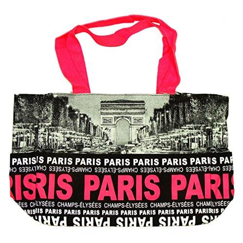 Sac Shopping Paris Robin Ruth 'Champs-Élysées' - Rose