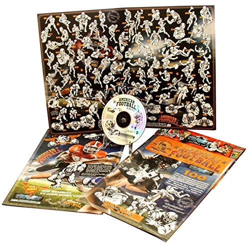 Preisvergleich Produktbild Schneidmeister AMERICAN FOOTBALL, 100x hochwertige Vektor-Produktionsmotive CD-ROM für Schneideplotter, Textildruck DTG, Siebdruck, Schablonenarbeiten, Werbemittel und Design