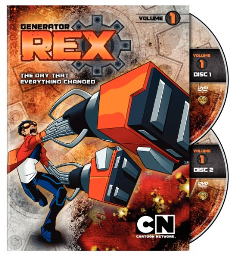 Generator Rex 1 (2pc) / (Ecoa) [DVD] [Region 1] [NTSC] [US Import] Ntsc-generator