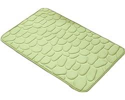 Decorus Alfombra de baño Antideslizantes para baño súper Absorbente y Peluda Suave Alfombra de baño Lavable a máquina para Al