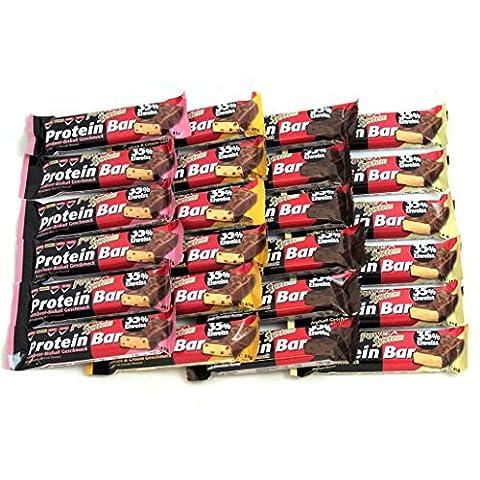 Power System Protein Bar 35% - 24 x 45g (Mix) (Powerbar Vanille Crisp)