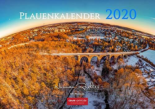 Plauen Kalender 2020 (A2 Querformat)