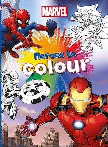 Marvel Heroes to Colour (Colouring Book)