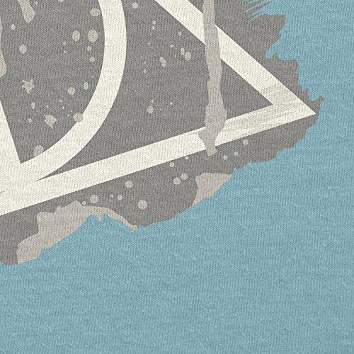 NERDO - Harry's Sign Splash - Damen T-Shirt Hellblau