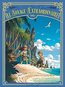 """Afficher """"Le Voyage extraordinaire n° 5<br /> Les îles mystérieuses - 2/3"""""""