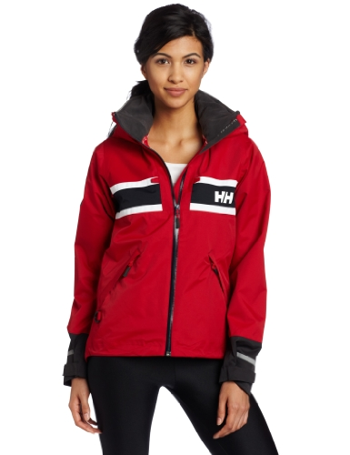 Helly Hansen Damen Segeljacke Salt, Red, M, 30283