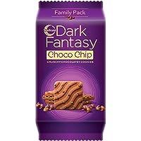 Sunfeast Dark Fantasy Choco Chip 350g Pack   Crunchy Chocolatey Cookies