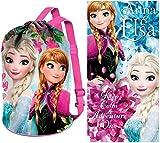 Disney Frozen Rucksack und Badehandtuch, Die Eiskönigin