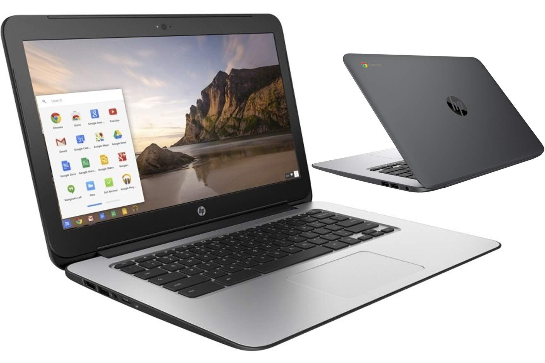 BLACK-HP-CHROMEBOOK-14in-G1-INTEL-14GHZ-4GB-RAM-16GB-SSD-HD-WEBCAM-CHROME-OS-Renewed