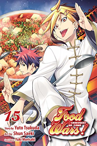 Food Wars!: Shokugeki no Soma, Vol. 15 Cover Image