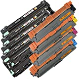 4x TONER IBC + 4x TROMMEL IBC für BROTHER MFC-9330 CDW / MFC-9332 CDW / MFC-9340 CDW / MFC-9342 CDW 3