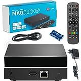 Originele Infomir MAG520w3 Wí-Fí / 4K UHD IPTV Box / Internet TV / 2160p 60 FPS Media Player IPTV Receiver Set Top Box / Comp