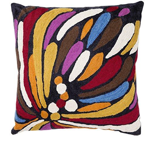 Zaida 1 pieza 45 x 45 cm de lana/algodón Bangola