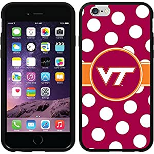 Coveroo Switchback Case for iPhone 6 - Retail Packaging - Virginia Tech - Polka Dots Design