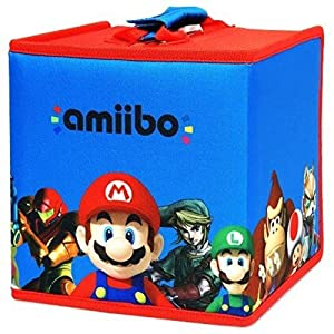 amiibo 8 Figure Travel Case – Mario and Friends