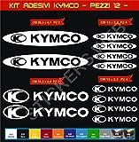 Aufkleber stickers KYMCO -Motorrad- Cod. 0610 (Bianco cod. 010)